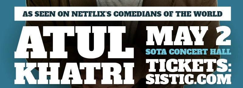 One of India's Best Stand-up Comedians Atul Khatri returns to Singapore