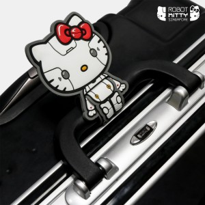 Robot Kitty Singapore Luggage 28Inch (Black) - 02