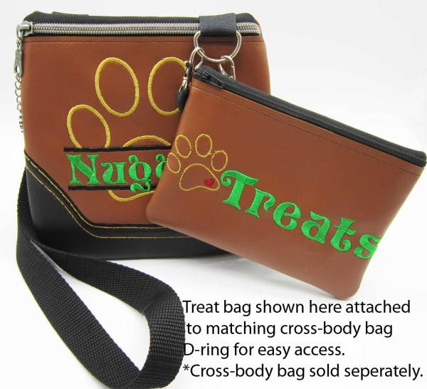 Treat Bag Accessory Attached Brown