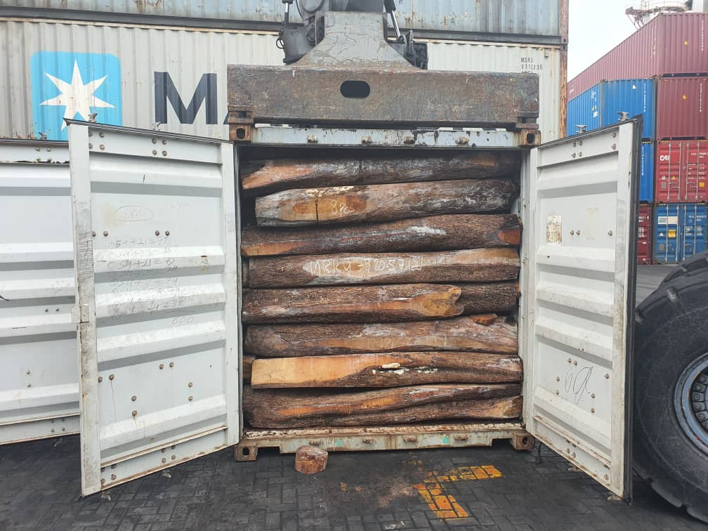 Rosewood trade continues as State official de-green Ghana in the face of Green Ghana - Dr. Apaak alleges. 60