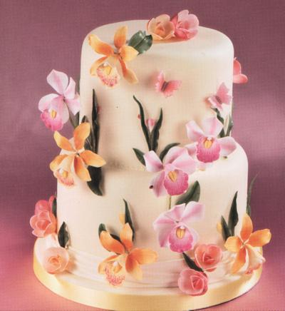 Sugarcraft Flowers Wedding Cakes Edinburgh Scotland