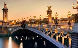 Pont Alexandre, Seine, Paris