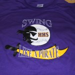 HHS Pirates 3-color t-shirt