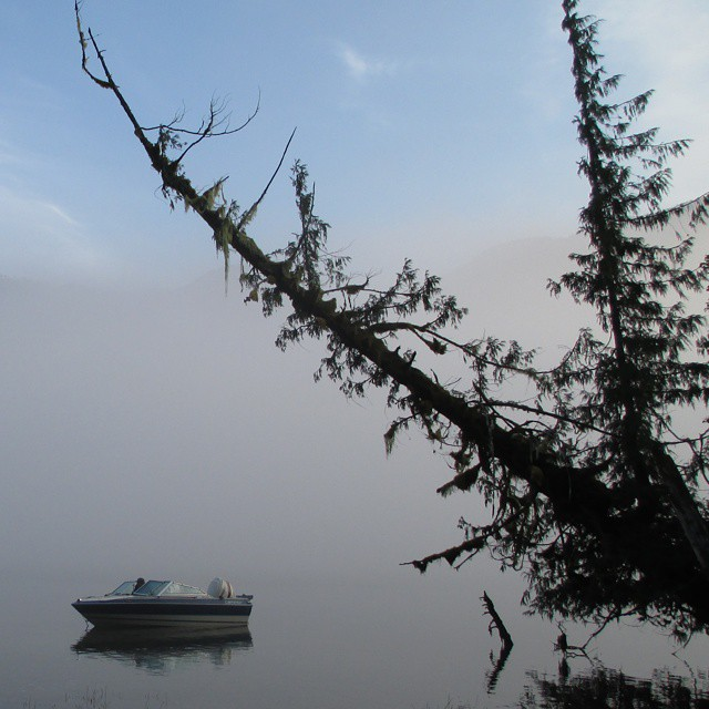 Early morning on Wuikinuxv lake