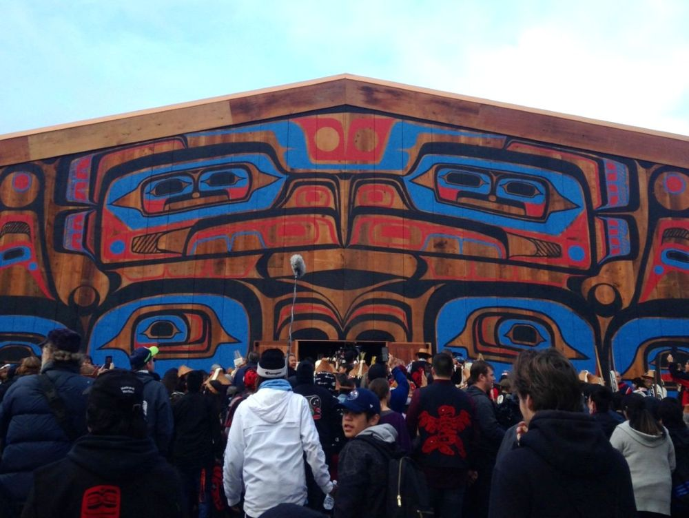 The Heiltsuk Nation begins 5 days of celebration in Waglisla or Bella Bella, B.C.