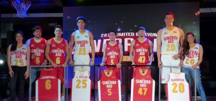 GINEBRA AKO | Ginebra San Miguel Unveils Its 2018 Limited Edition Jersey Collection