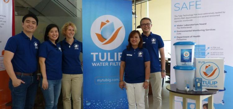 Tulip Water Filter Makes Safe and Clean Drinkable Water From Pasig River