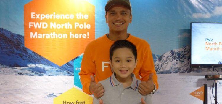Cancer Survivor Louie Sangalang Joins Team Asia in FWD North Pole Marathon