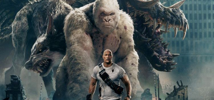 RAMPAGE Brings Fast-Paced Havoc on the IMAX Screen #5SecReview