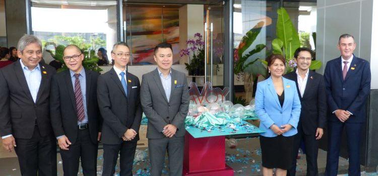 Megaworld Unboxes Savoy Hotel Manila in Newport City