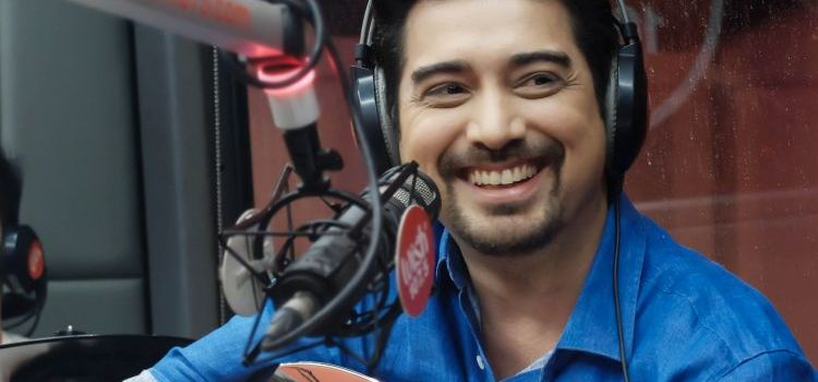 IAN VENERACION at Wish 107.5 and ASCOF's Early Father's Day Roadshow