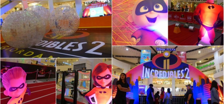 Giordano Launches INCREDIBLES 2 Shirts and an Incredible Family Weekend Treat at Trinoma