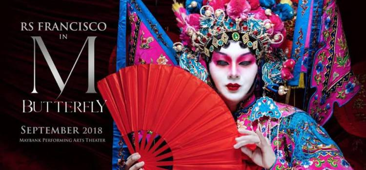 Tony Award-Winning Play M. BUTTERFLY Takes Manila in September