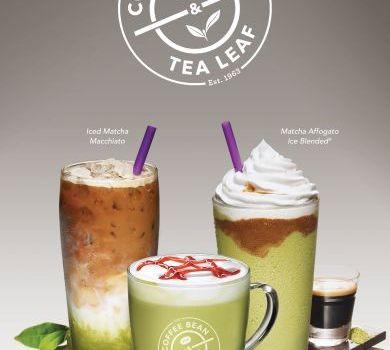 The Coffee Bean & Tea Leaf New Limited Edition Matcha Craze Drinks