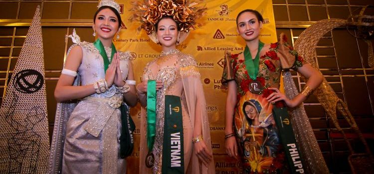 Miss Earth 2018 National Costume Winners