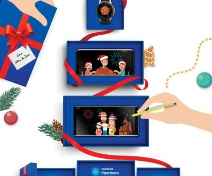 Samsung Galaxy Christmas Gifts and Offers