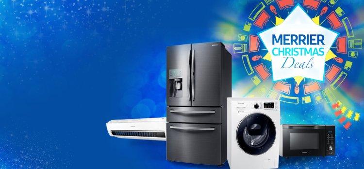 Samsung Digital Appliances Merrier Christmas Deals