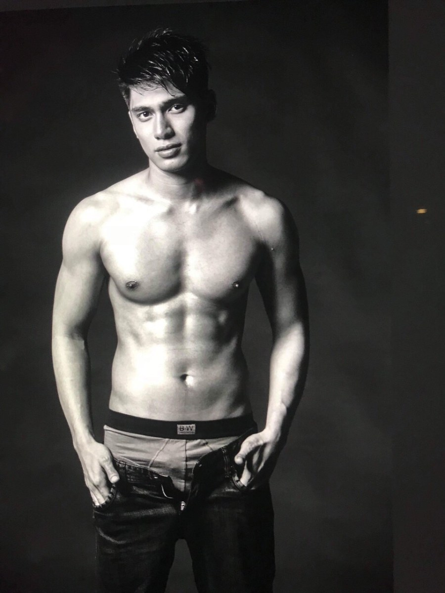 ONE UP Prince Clemente Models Latest Boardwalk Men's Underwear Collection