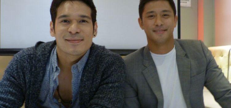 Actor-Nurses Rocco Nacino and Pancho Magno in GMA News TV's New Health-Oriented Show