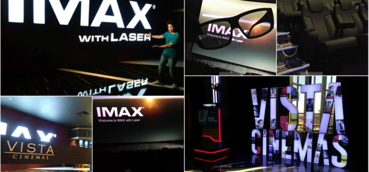 Vista Cinemas Introduces First IMAX with Laser Theater in Southeast Asia