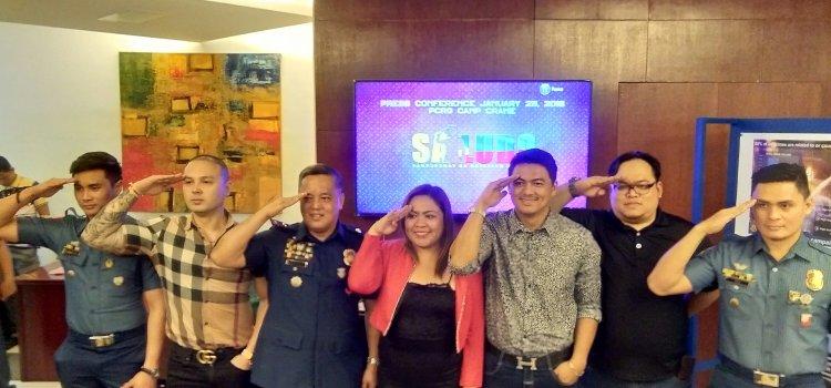 Polo Ravales as PNP Chief Bato Dela Rosa in PTV4's SALUDO Hero-Serye Pilot