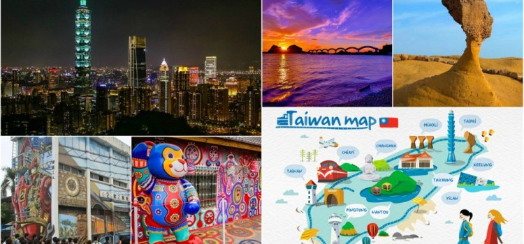 40 Places To Visit in Taiwan