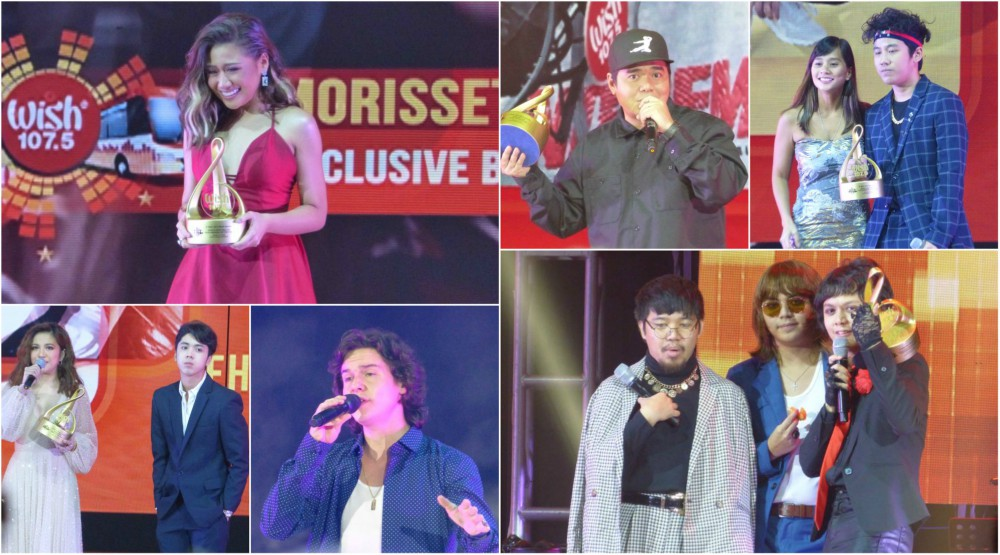 Morissette, IV of Spades Wins Big at the 4th Wish Music Awards