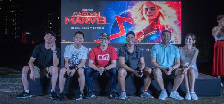 SM Cinema Sends 2 Lucky Quiz Winners To The Captain Marvel Fan Event in Singapore