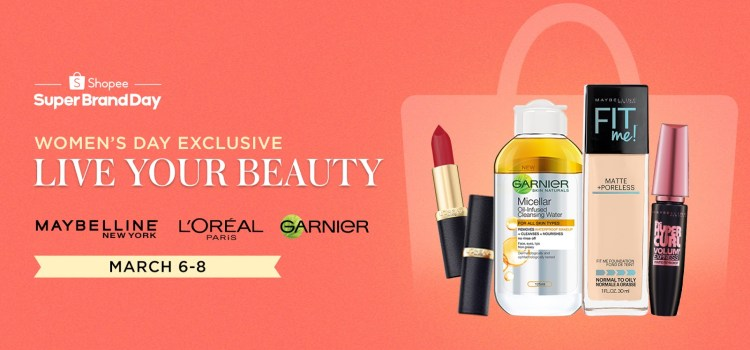International Women's Day Exclusive Deals on Shopee