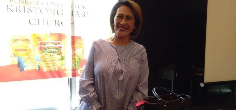 Aiai Delas Alas Rallies Support For Kristong Hari Church Construction Through Araneta Concert