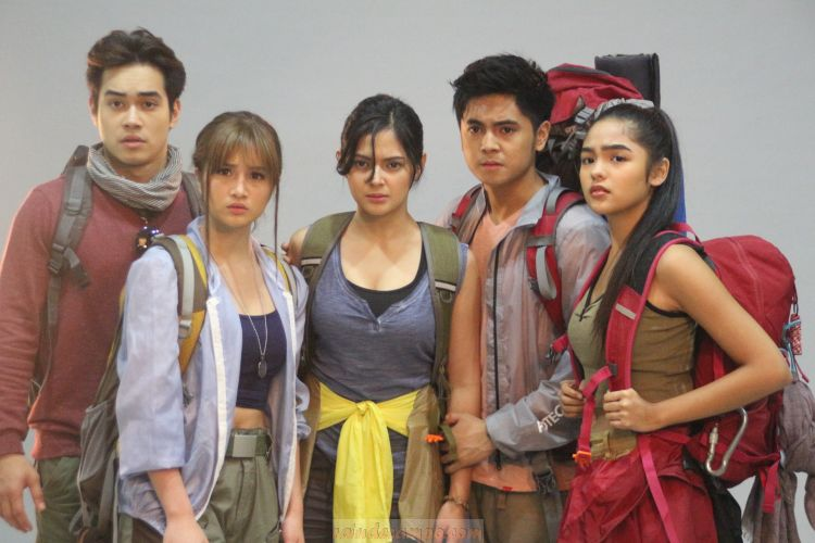 Bianca Umali, Miguel Tanfelix and Andrea Brillantes in Upcoming Thriller BANAL