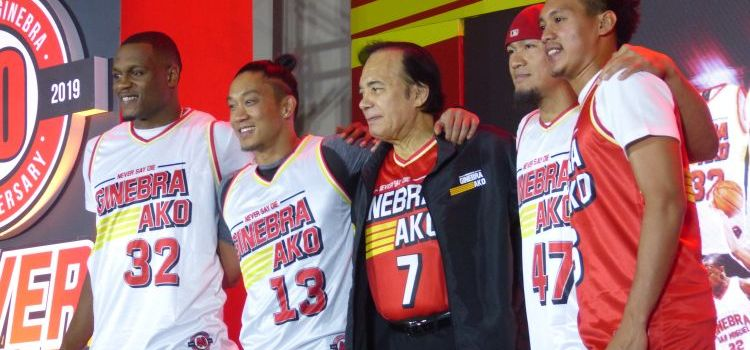 Never Say Die | Ginebra San Miguel Unveils its 40th Year Anniversary Jersey Collection