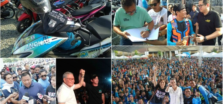 Angkas and Motorcyle Rider Groups Gets Support From Politicians