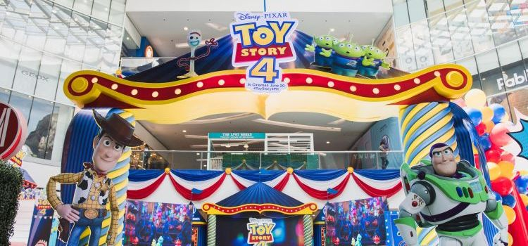 The Disney-Pixar Toy Story 4 Adventure Land at SM City North EDSA