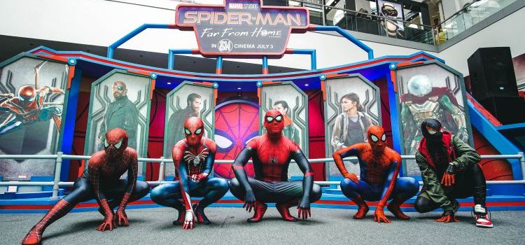 SM Cinema Welcomes Spider-Man: Far From Home with Ultimate Spidey Fan Event