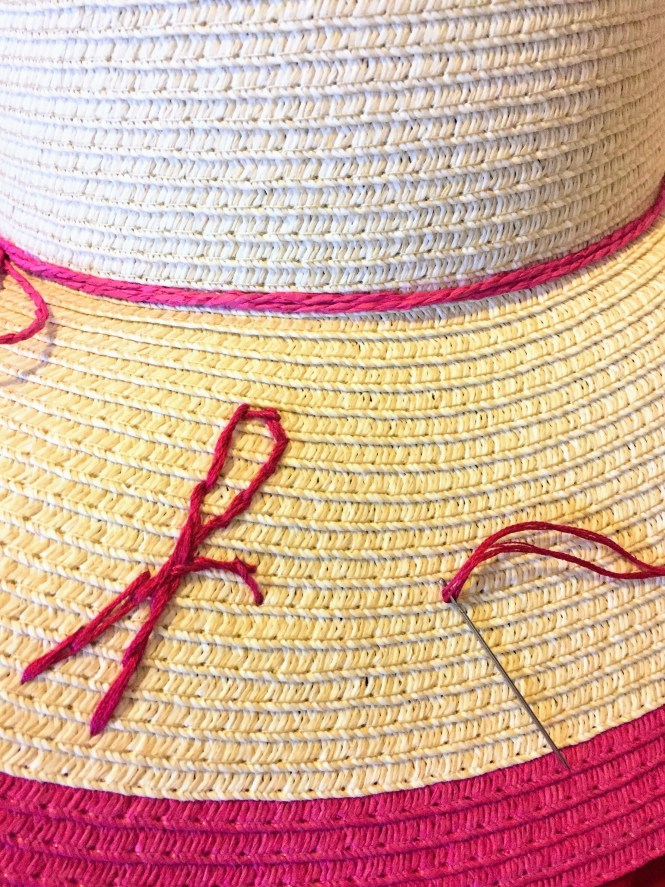 Hello, Sunshine! - DIY Embroidered Sun Hat | Raine In The City