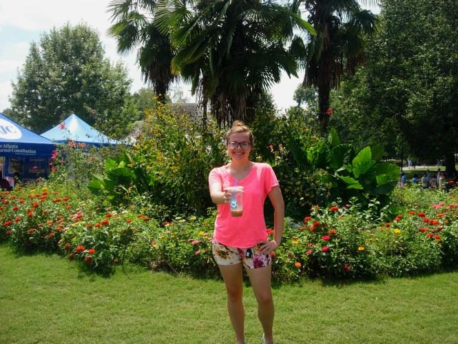 Art, Flowers, & Sunshine at the Piedmont Park Arts Festival | Raine In The City