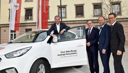 Tirol übt sich in Wasserstoff
