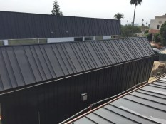 custom standing seam metal roof and siding - Venice Beach 90291