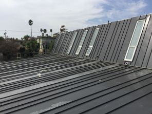 custom standing seam metal roof and siding - Venice Beach 90291 (4)