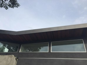 fascia cover standing seam vertical siding custom box leader heads and downspouts bonderized material 24 gauge Santa Monica 90405(12)