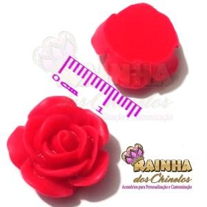 Florzinha ABS Vermelha
