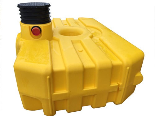 Easy-rain 3000 litre shallow dig tank