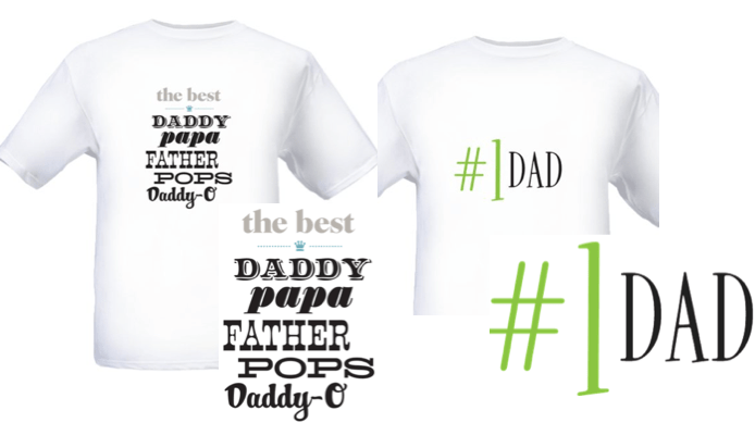 Mother's Day & Father's Day Personalized T-Shirt ONLY $2 ...