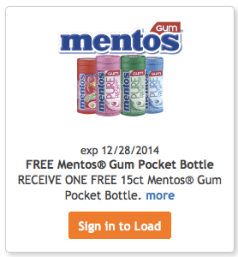screen shot 2014 12 12 at 5 40 56 am Kroger Freebie Friday: Free Mentos Gum (Must Load ECoupon Today)!