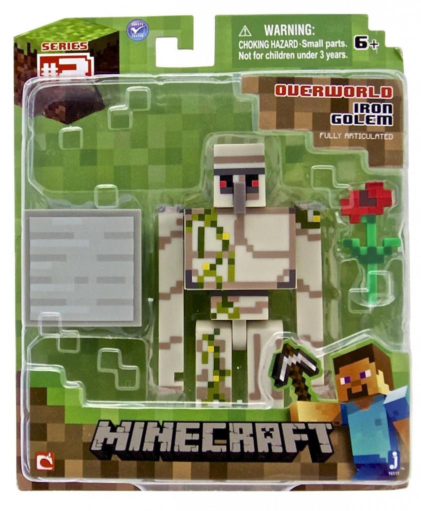 Amazon Minecraft Iron Golem Action Figure Only 770 Reg