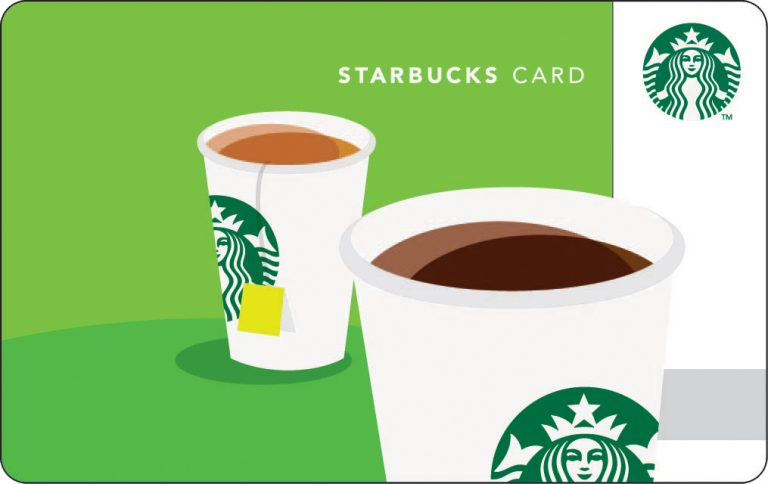 FREE 5 Starbucks Gift Card