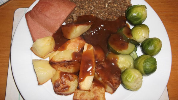 Christmas Meal for a Vegetarian