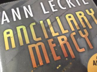 Part of the book cover for Ancillary Mercy