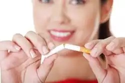 Quit smoking and look younger